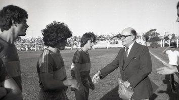 hace 37 anos, el mas grande jugo en el estadio de patronato