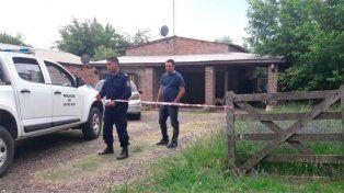 La policía de Entre Ríos trabaja en la zona.