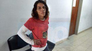 Angustiada. Patricia Torres pidió para que Apolinario no salga nunca de la cárcel. Foto: Javier Aragón