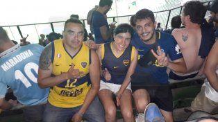 Paranaenses alentaron a Boca en San Pablo