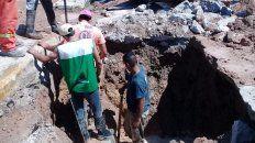 corte de agua en gran parte de la ciudad de parana