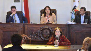 Cara a cara. Glauser criticó directamente al concejal Gainza.