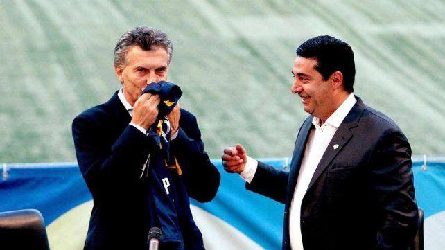 El ex presidente de Boca pidió por paz en el Sucperclásico.