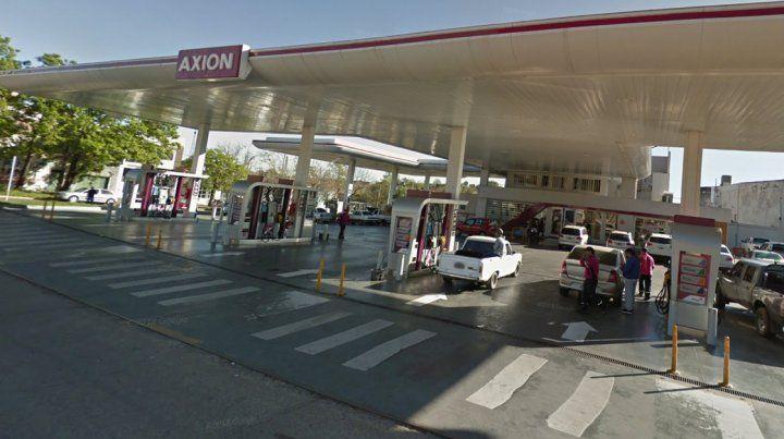 Axion aumentó sus combustibles hasta un 7%