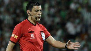 La Conmebol dio a conocer los árbitros para la final de ida