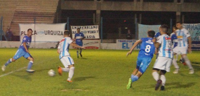 Fue derrota para los de Concepción del Uruguay.