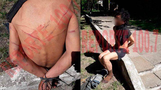 Hallaron a un hombre golpeado, maniatado y amordazado en Paraná