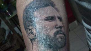Es de General Ramírez y sueña con conocer a Messi. Mirá lo que hizo por su ídolo