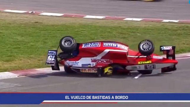 Fue dado de alta piloto paranaense que volcó en la Fórmula 2.0 Pirelli