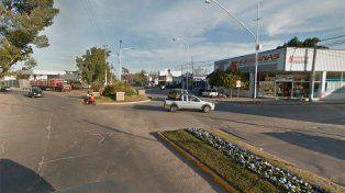 Investigación. La Policía detuvo a los sospechosos en esta zona de Gualeguay.