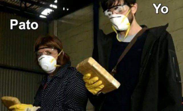 ¿Cómo es una quema de droga por dentro? El video de Korovsky junto a Patricia Bullrich