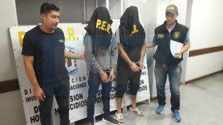 Acusados. Dos hombres de Puerto Viejo quedaron detenidos por el crimen.