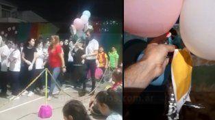 Seis globos peregrinos cruzaron tres provincias con mensajes de alumnos de una escuela paranaense