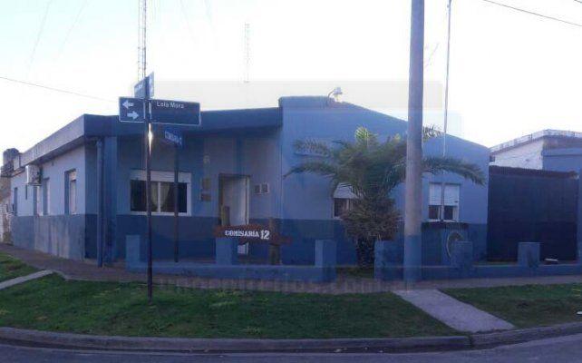 Barrio bravo. La comisaría 12 debió intervenir por los incidentes en La Milagrosa.