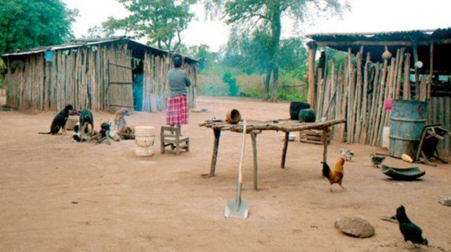 Las comunidades originarias viven en condiciones de extrema miseria. La niña llegó al Hospital sin siquiera saber que estaba embarazada