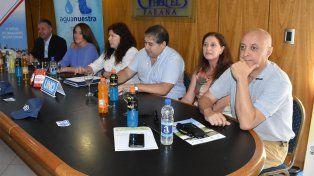 Conferencia de prensa. Ayer por la mañana se realizó una rueda de prensa para dar detalles de la competencia.