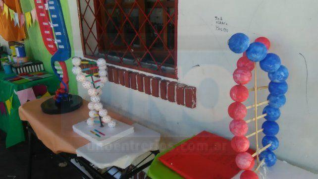 La escuela N° 18 Juan Manuel de Rosas realizó este jueves su muestra anual