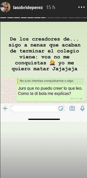 Sol Pérez se peleó con el chico con el que estaba saliendo y lo escrachó en Instagram