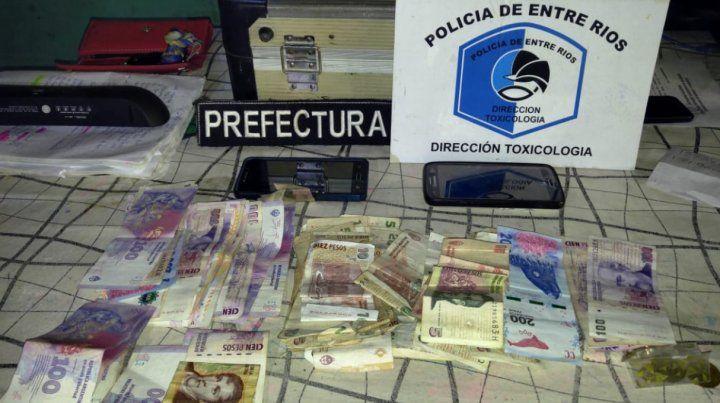 Un detenido y droga incautada en varios procedimientos en dos ciudades entrerrianas