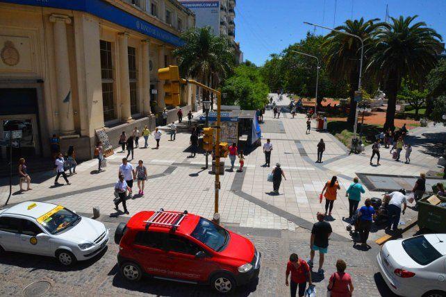 En diciembre se iniciará la remodelación de la peatonal San Martín
