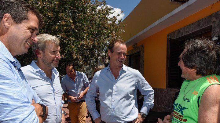 Bordet y Frigerio inauguraron obras para barrios en Concordia