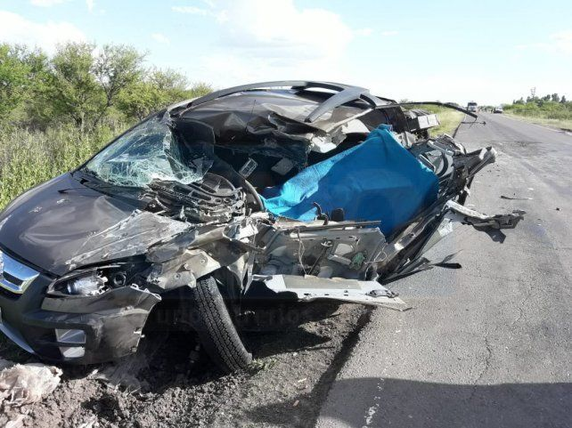 Muerte instantánea. El conductor