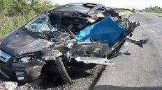 Muerte instantánea. El conductor, militar se dirigía hacia La Paz.