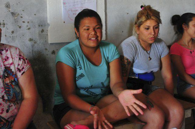 Natacha. Ella y otras jóvenes replicaron su experiencia en el taller
