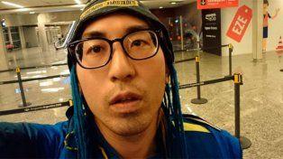 Isamu Kato llegó desde Tokio con la única misión de presenciar el superclásico.
