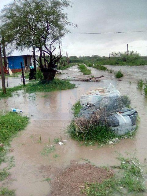 Por la lluvia, Paraná se encuentra en emergencia