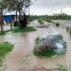 Para estar atentos. En Paraná ya hay zonas afectadas, por lo que sería complejo el panorama.