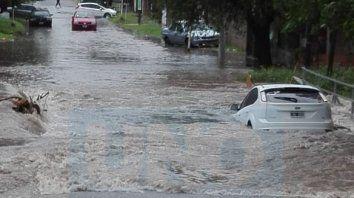 Alerta meteorológico. Por las lluvias puede haber más desbordes y anegamientos en Entre Ríos.