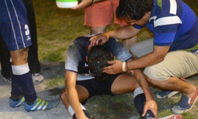 Le quemaron la cara con agua caliente a un jugador entrerriano