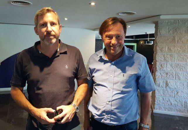 Frigerio y Varisco analizaron las obras financiadas por el gobierno nacional