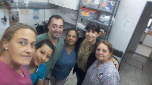 Respuesta. La ministra llegó de inmediato al Hospital San Roque.