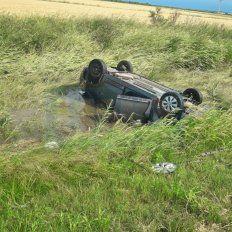 Golpes y heridas. El conductor solo padeció lesiones leves.