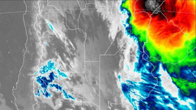 Entre Ríos continúa en alerta meteorológico