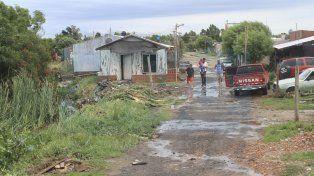 Lo que trajo la lluvia: Fuerte demanda de vecinos por ayuda social, cortes de calles y autoevacuados