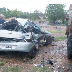 Un espejo de agua provocó un accidente fatal en ruta nacional 18