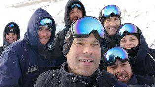 Emotivo regreso de los entrerrianos que prestaron servicio un año en la Antártida