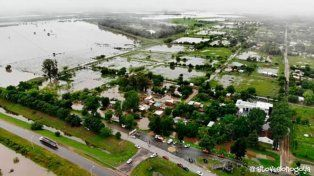 El Temporal también provocó inundaciones en La Paz e Irazusta