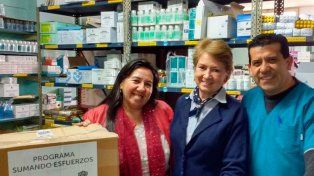 Bnai Brith Argentina realiza una nueva donación de medicamentos
