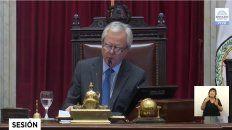 el senado nacional trata hoy el presupuesto 2019 y el paquete economico