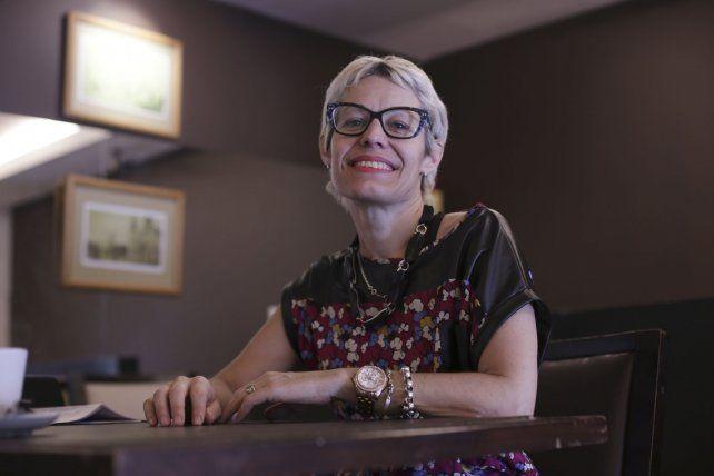 Cecilia Poggio coordinó las jornadas con los integrantes de APAC.