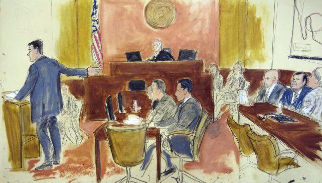 Al banquillo. El escenario del proceso judicial retratado