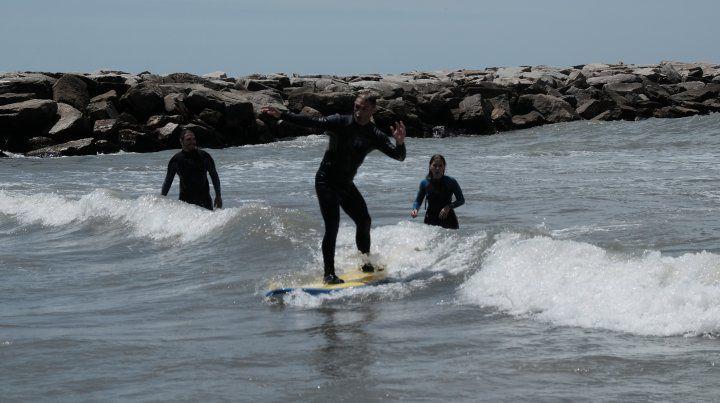Las 18 fotos del primer Campeonato Sudamericano de surf adaptado