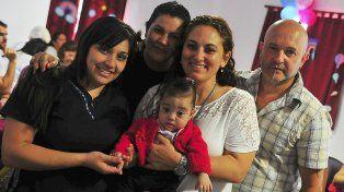 Mimada. Juana estuvo junto a sus padres y las enfermeras.
