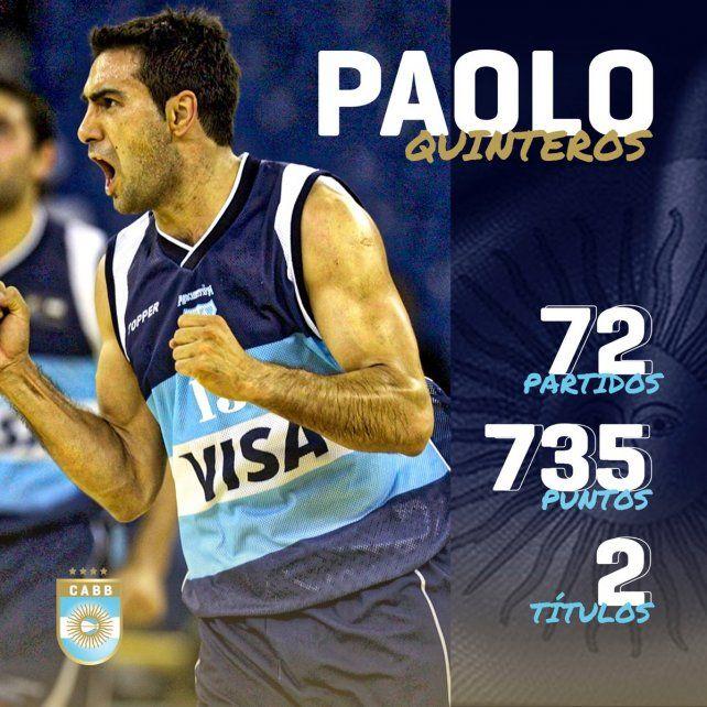 Un fenómeno. Paolo fue Bronce en Beijing y en su última vez con la Selección fue campeón del Preolímpico.