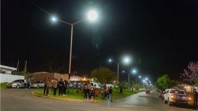 Luminarias LED: finalizó la primera etapa de la renovación del alumbrado público