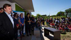 varisco inauguro el jardin maternal puentes de colores